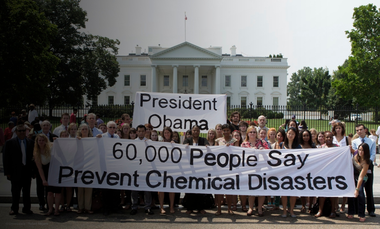 Toxics Petitions to the White House